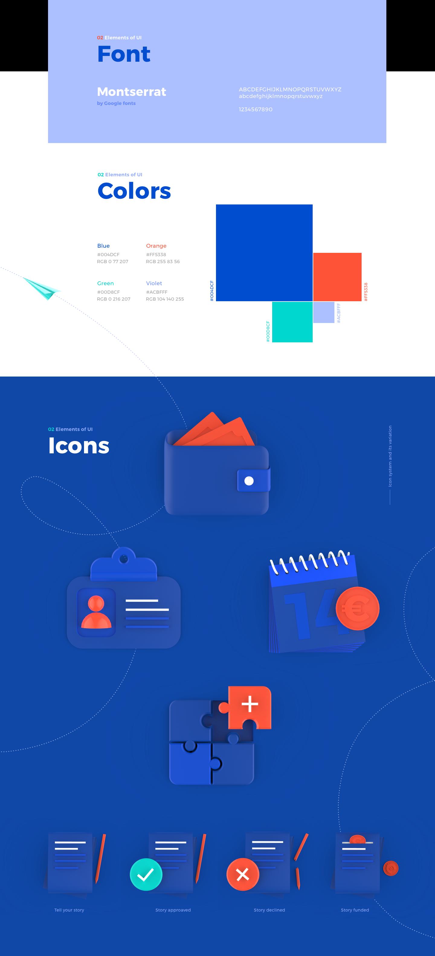 P2P UI Icons