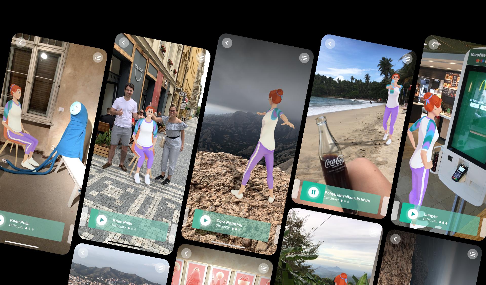 AR App Travelling